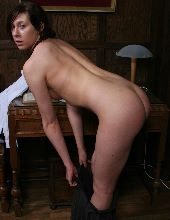 Bare spanked bottoms
